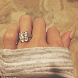 Pauline Gretsky's engagement ring, over the top, engagement, rock, big rock, giant rock