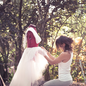 Making my own wedding dress